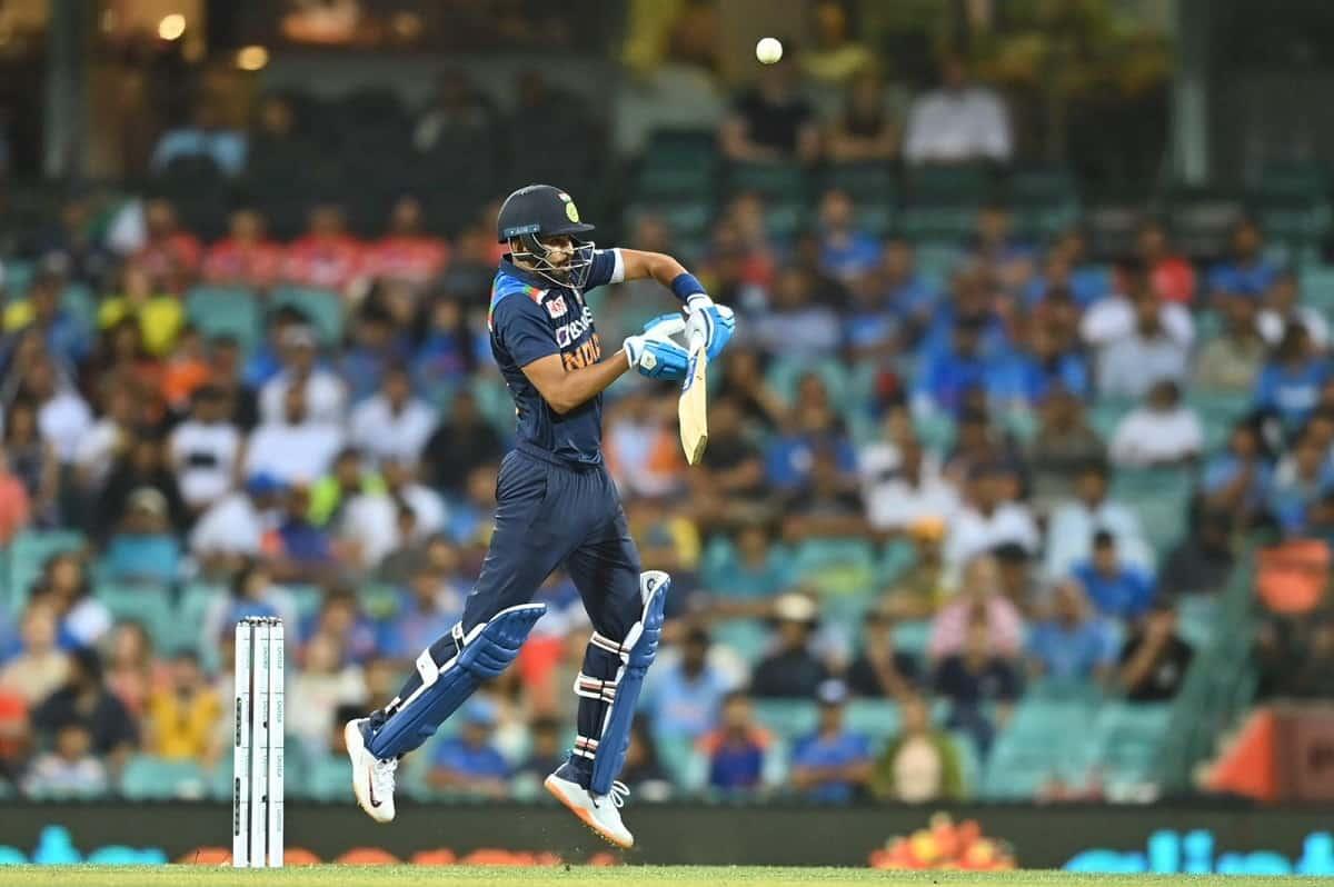 Image of Cricket Indian batsman Shreyas Iyer