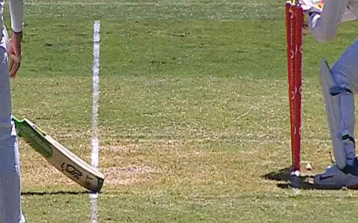 Image of Cricketer Tim Paine Run out Matter