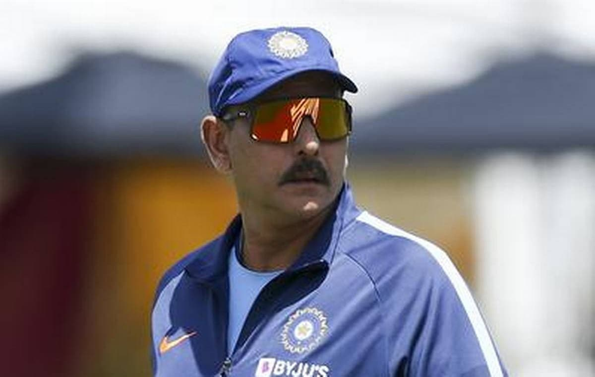 Image of Indian Cricket Team Coach Ravi Shastri