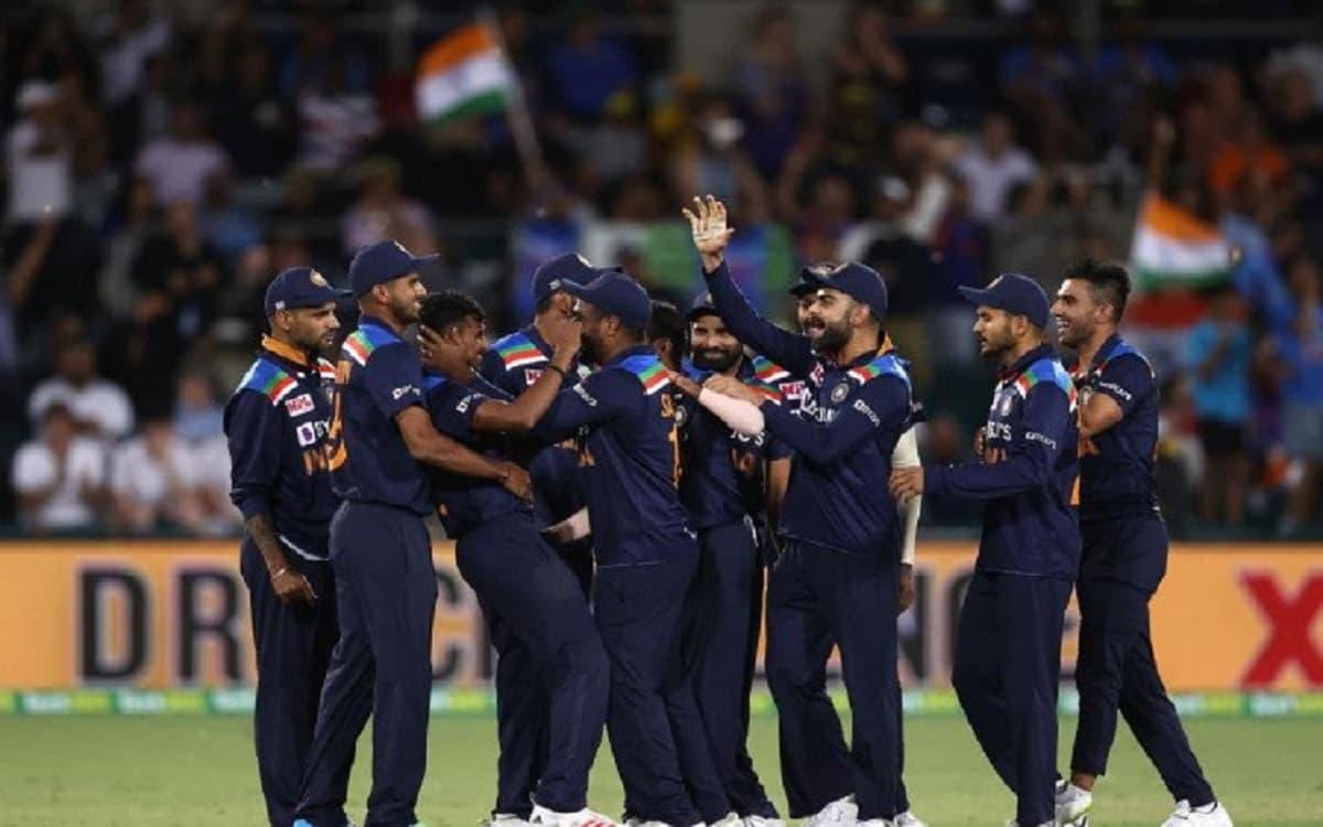 india beat australia by 11 runs in the 1st t20 chahal and natarajan shines