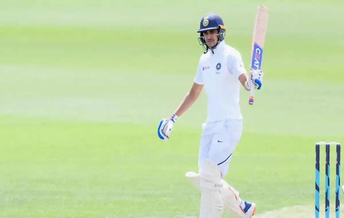 Image Of Cricketer Shubman Gill