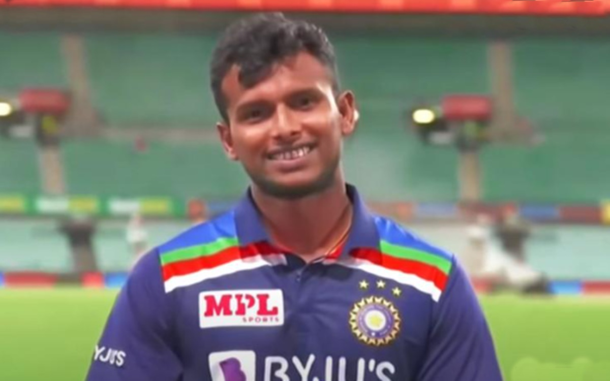 indian fast bowler T Natarajan talks about his international debut