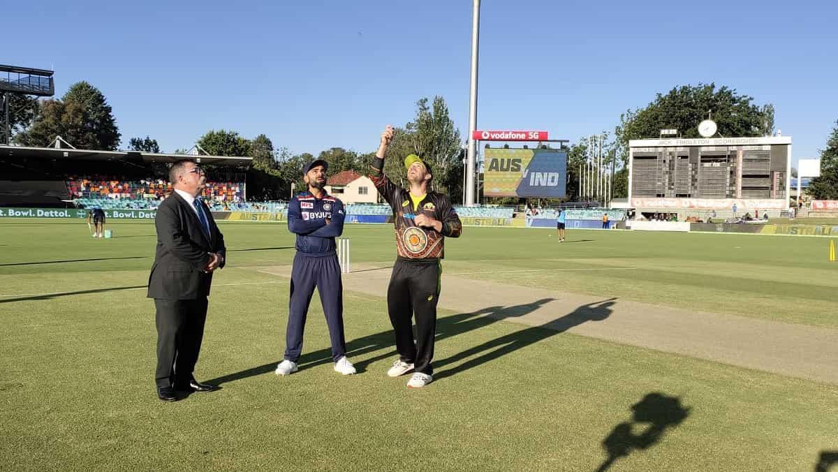 image for cricket Australia vs India toss