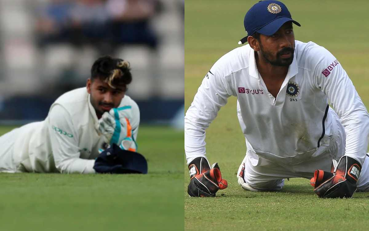 michael bevan feels wriddhiman saha is better wicketkeeper than rishabh pant