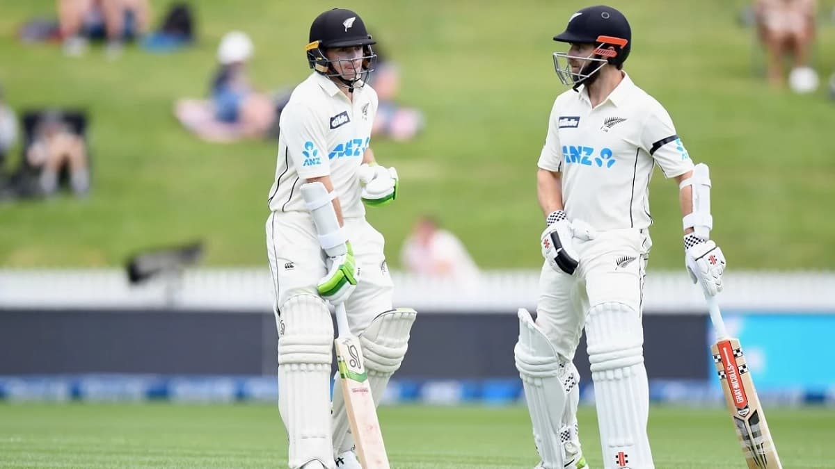 image for cricket kane williamson and tom latham first test