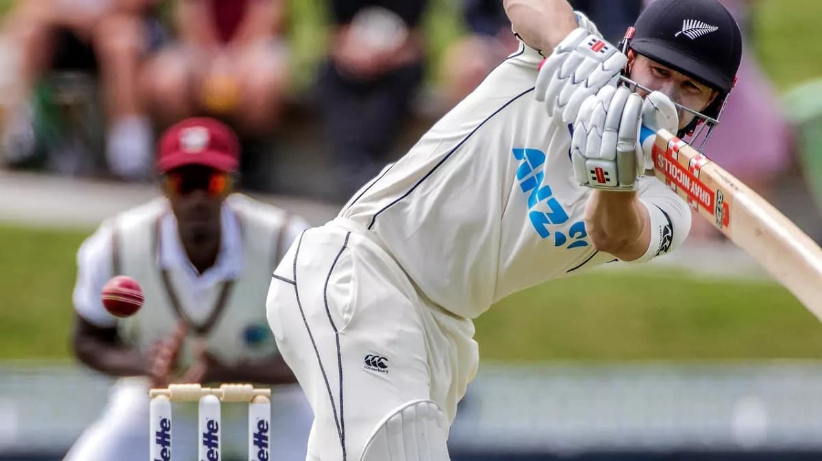 image for cricket henry nicholls hits ton in 2nd test against west indies