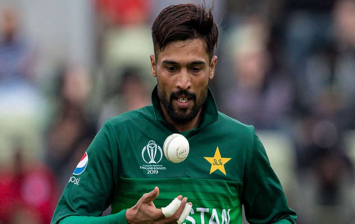 Image of Cricketer Mohammed Amir