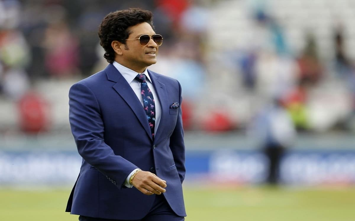 Image of Indian Cricketer Sachin Tendulkar