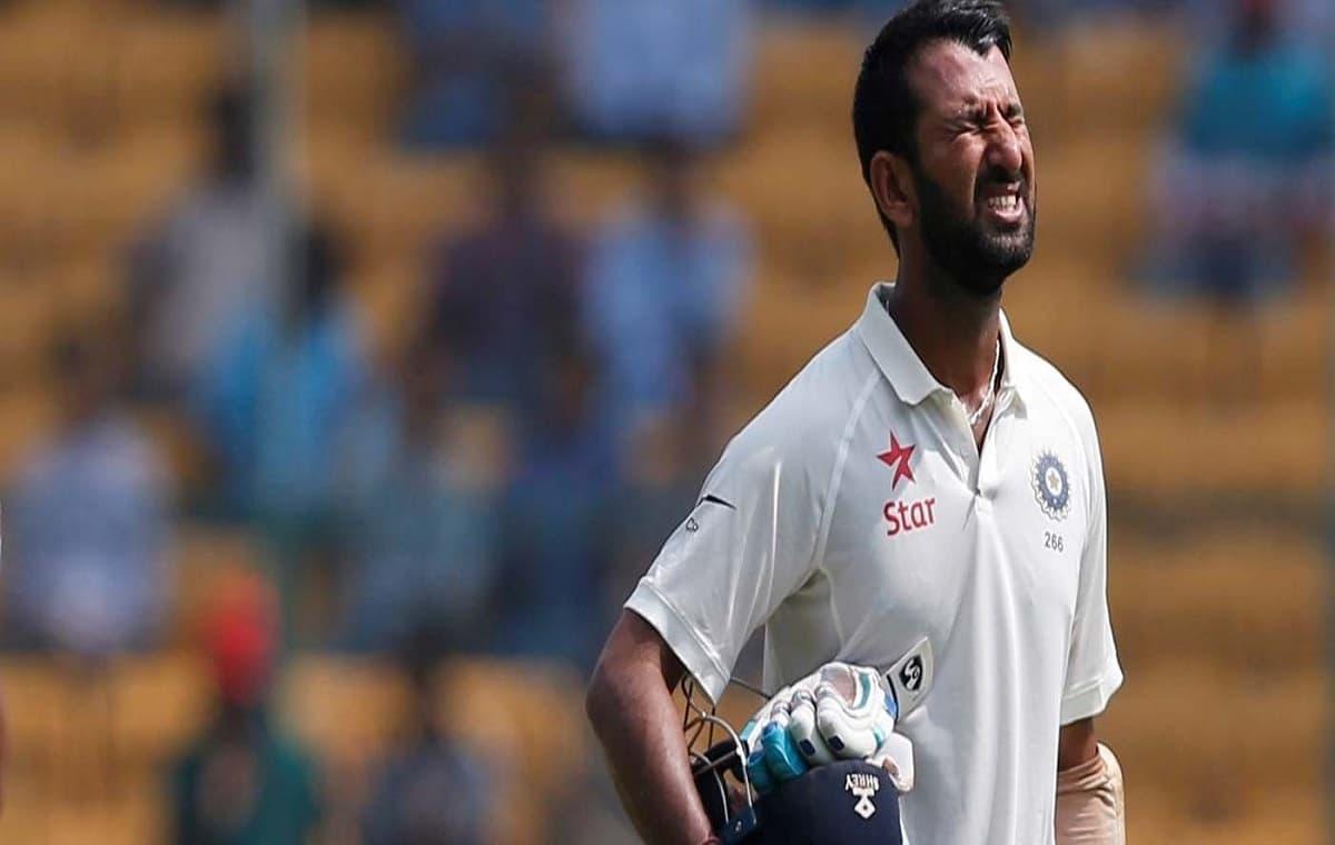 Image of Indian batsman Cheteshwar Pujara