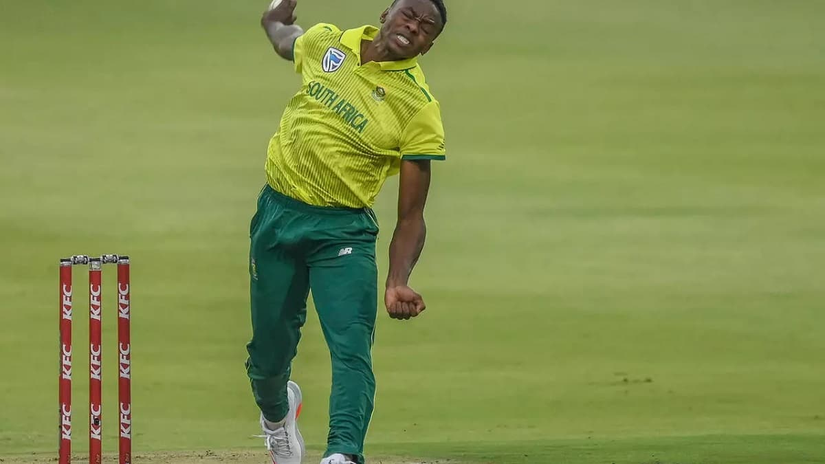 image for cricket south africa pacer kagiso rabada