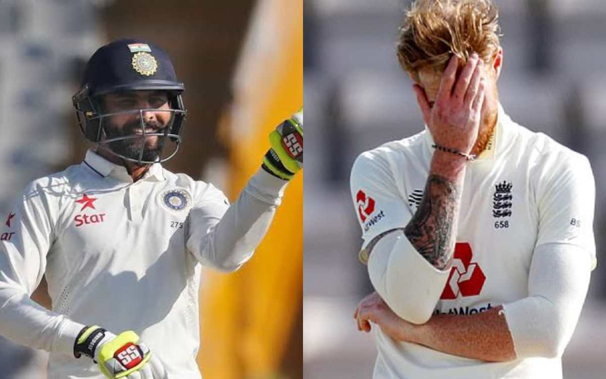 ravindra jadeja above of ben stokes in all rounders list of test cricket from 2016