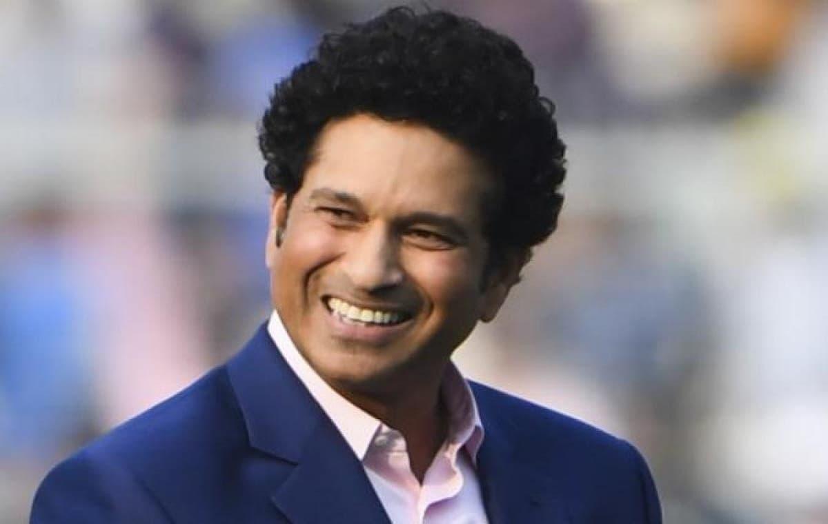 Image of Cricketer Sachin Tendulkar