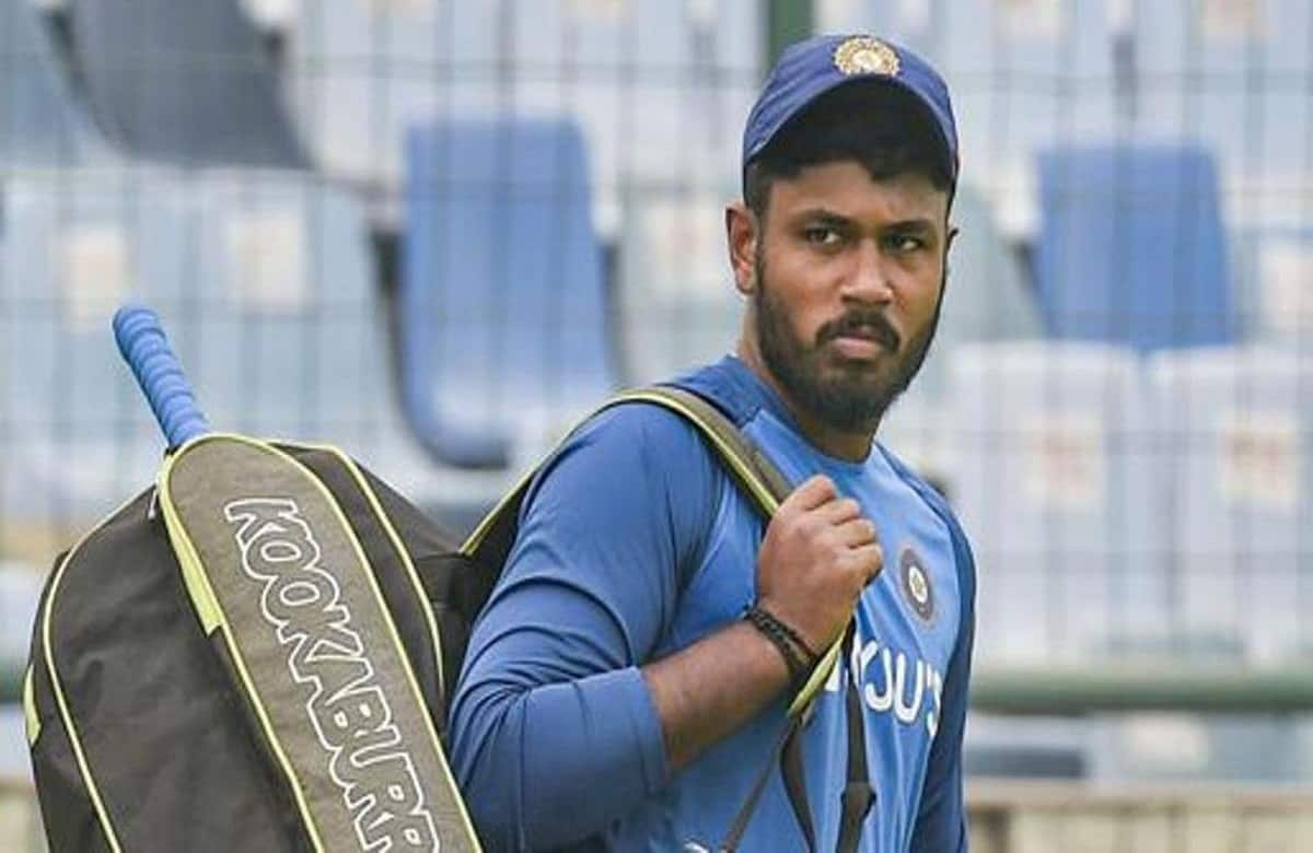 Image of Indian batsman Sanju Samson
