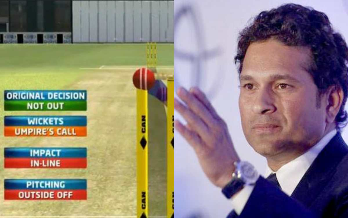 the drs system needs to be looked by icc especially umpires call says sachin tendulkar