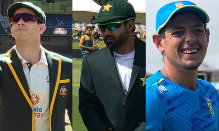 first time in Test history that three wicketkeeper-captains have come for toss on the same day