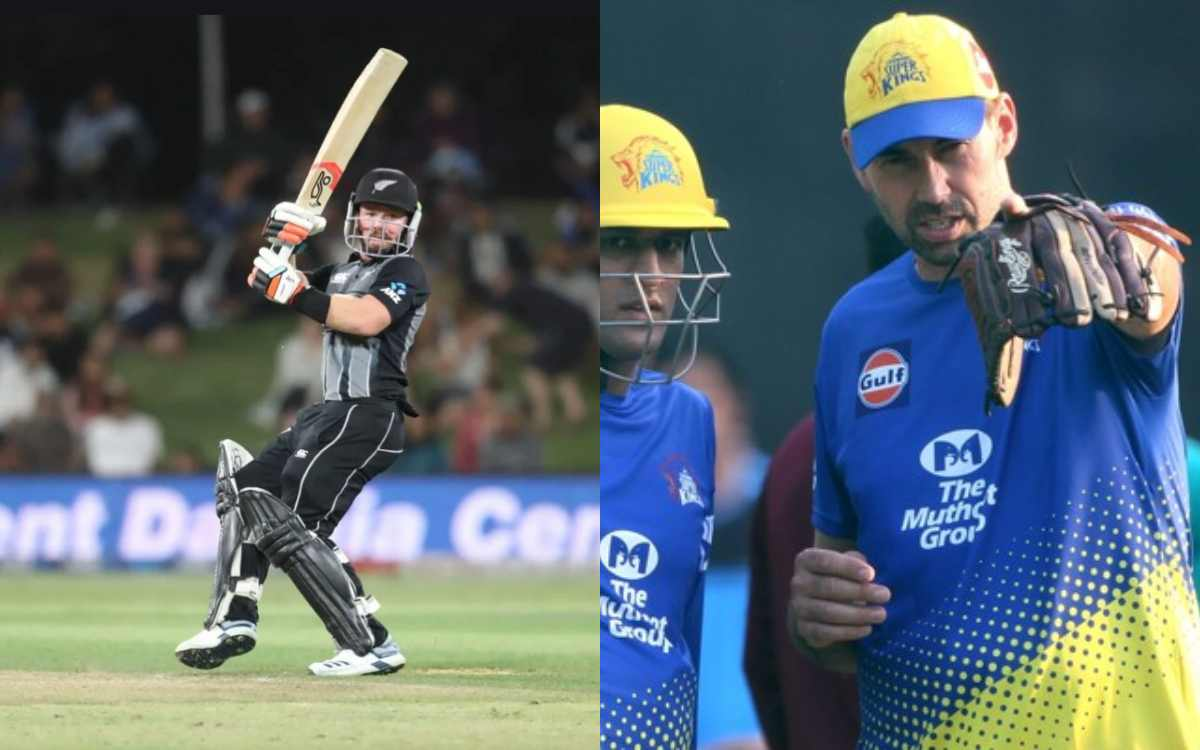 tim seifert scored back to back half centuries stephen fleming says csk is looking at you
