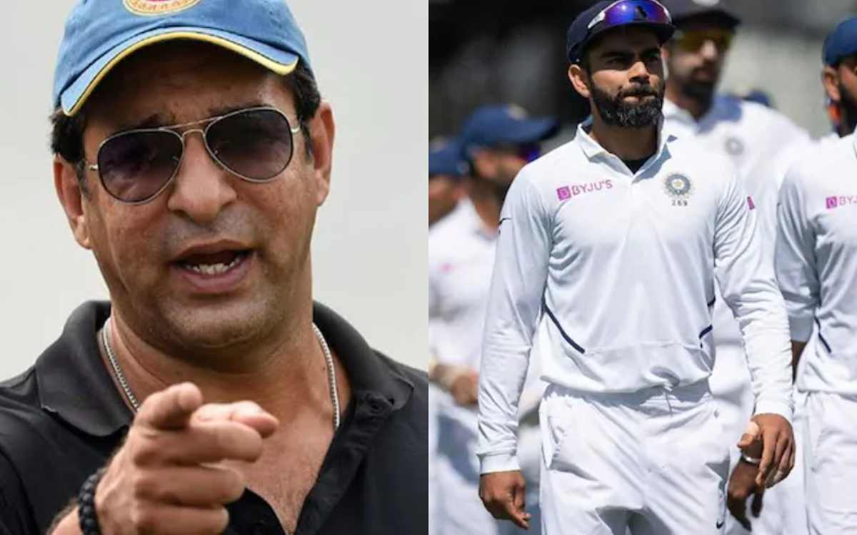 wasim akram reaction on indian team lost against australia in adelaide pink ball test
