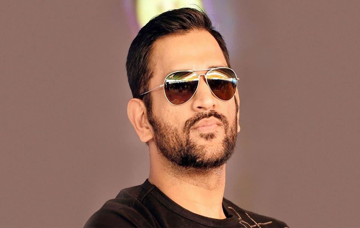 Image of Cricketer Mahendra Singh Dhoni