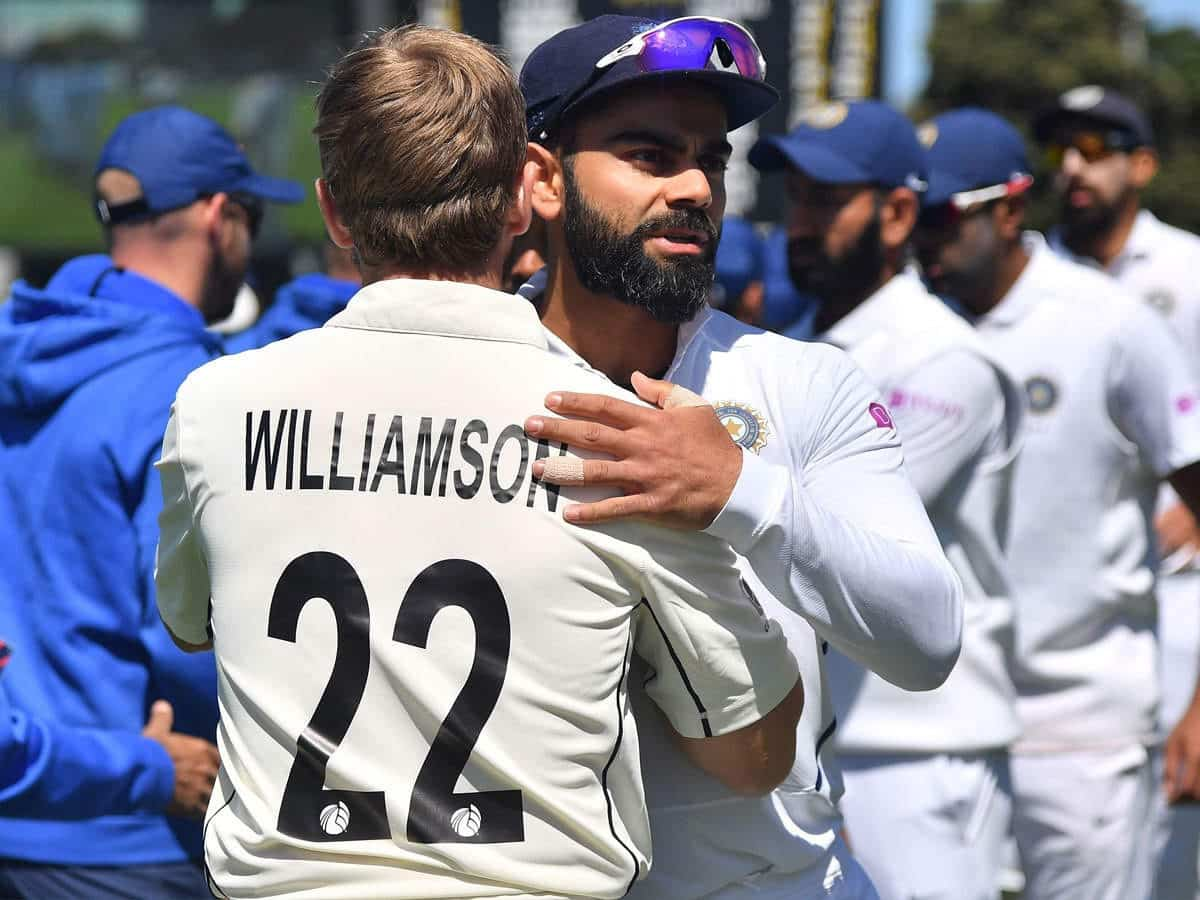 image for cricket kane williamson and virat kohli