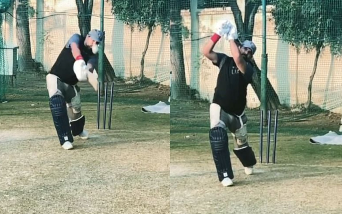 Yuvraj Singh dropped major hint about his comeback by resuming training in the nets watch video in h