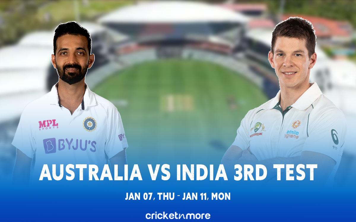 Australia vs India third test Preview & Playing XI