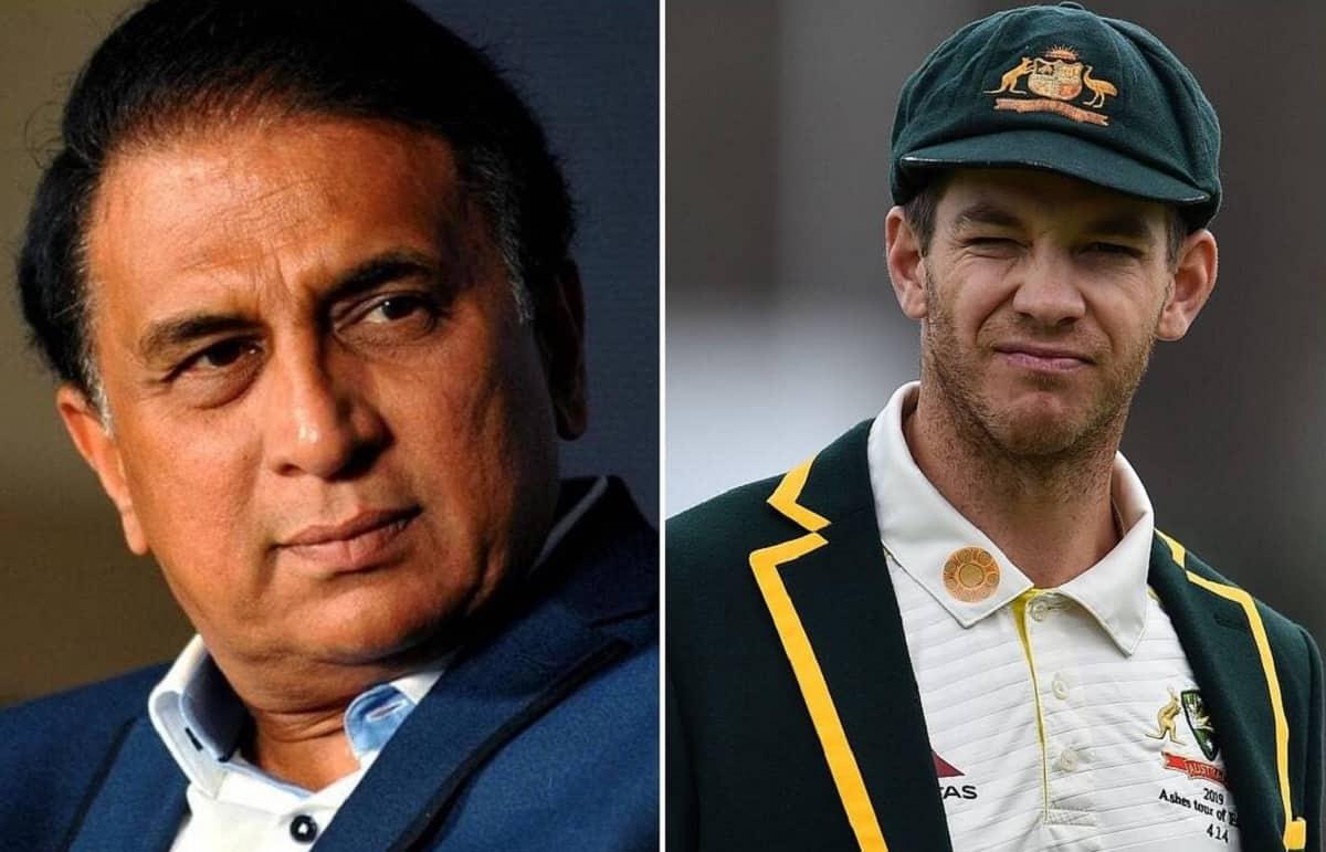 AUS vs IND: Tim Paine Refused War Of Words With Sunil Gavaskar