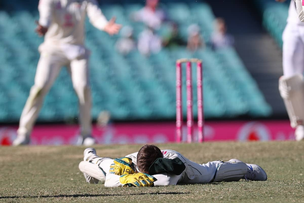 AUS vs IND: Tim Paine apologizes for his misbehave on the field