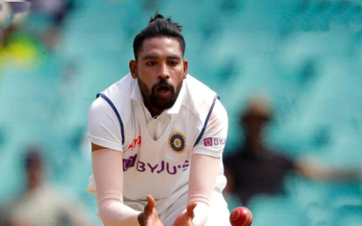 cricket images for AUS vs IND mohammed siraj racial abuse video viral on socail media