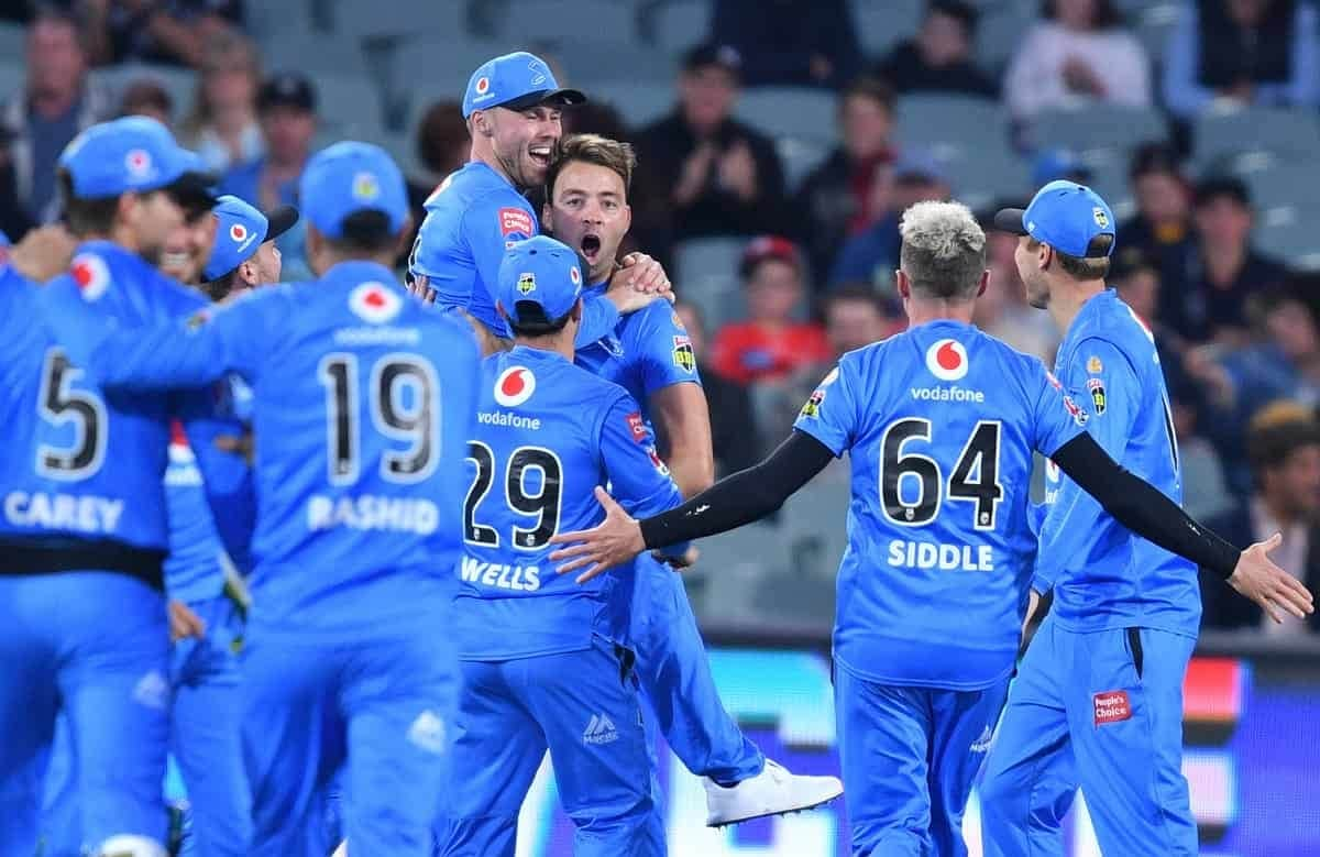 BBL 10: Adelaide Strikers beat Melbourne Renegades by 60 runs