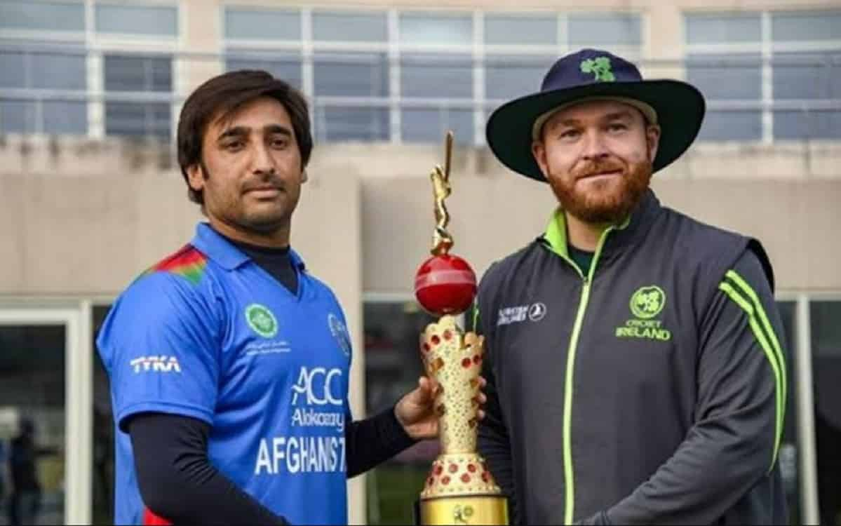 Afghanistan announce squad for ODI series vs Ireland
