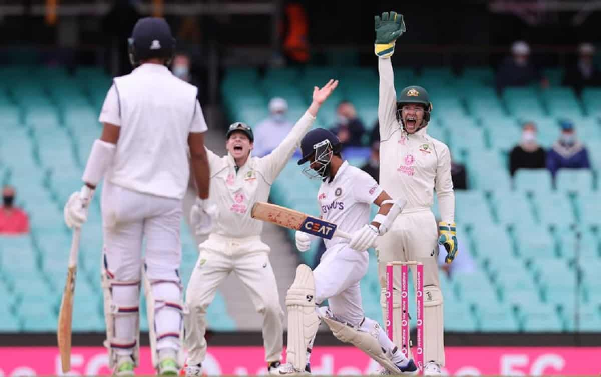 Rahane and Pujara survive as India finish the day on 96/2
