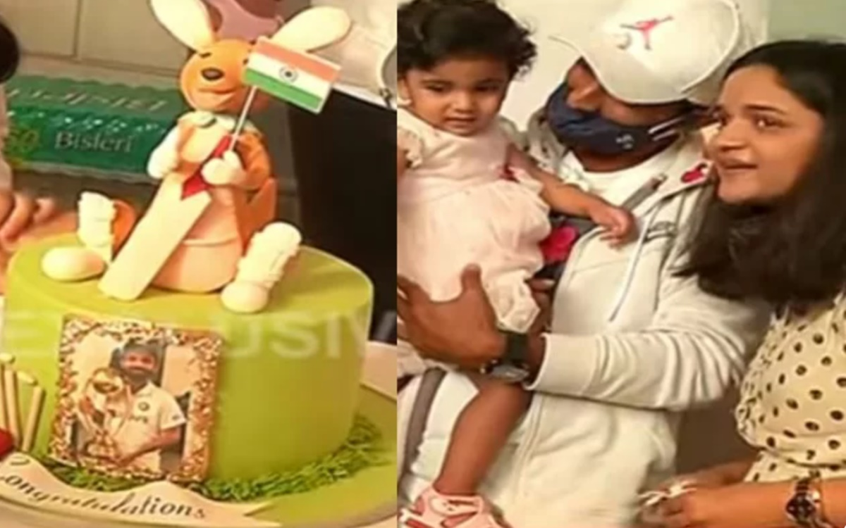 Ajinkya Rahane denies to cut a cake because of this reason watch video