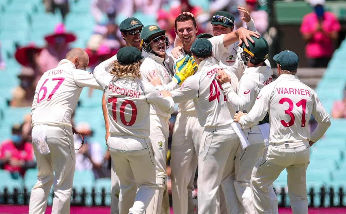 Team India innings ends at 244, which is 94 short of Australia's first innings total of 338