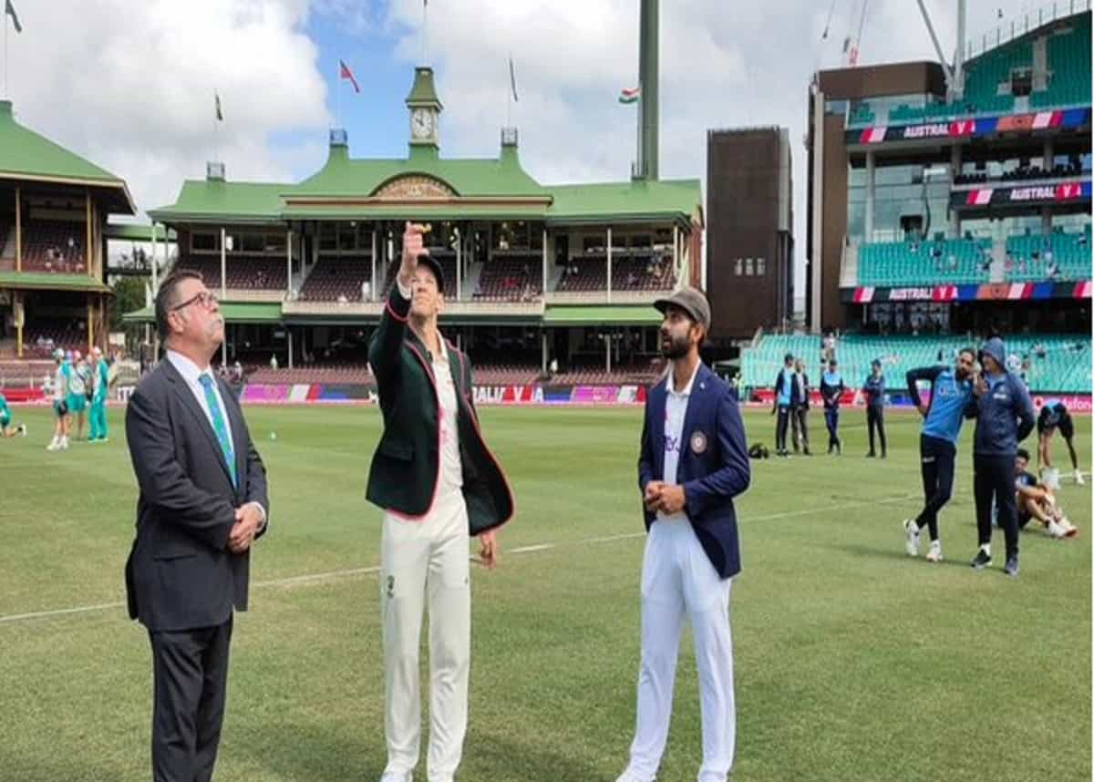 AUS vs IND: Australia win the toss and elect  to bat first
