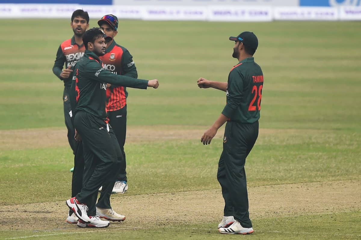 Image for BAN vs WI Bangladesh Beat west Indies by 6 Wickets