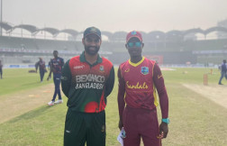 West Indies opt to bowl first against Bangladesh in third odi