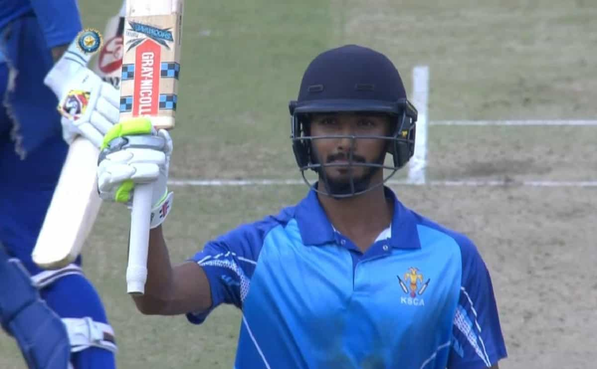 Images for Devdutt Padikkal smashes 99* as Karnataka beat Tripura by 10 runs