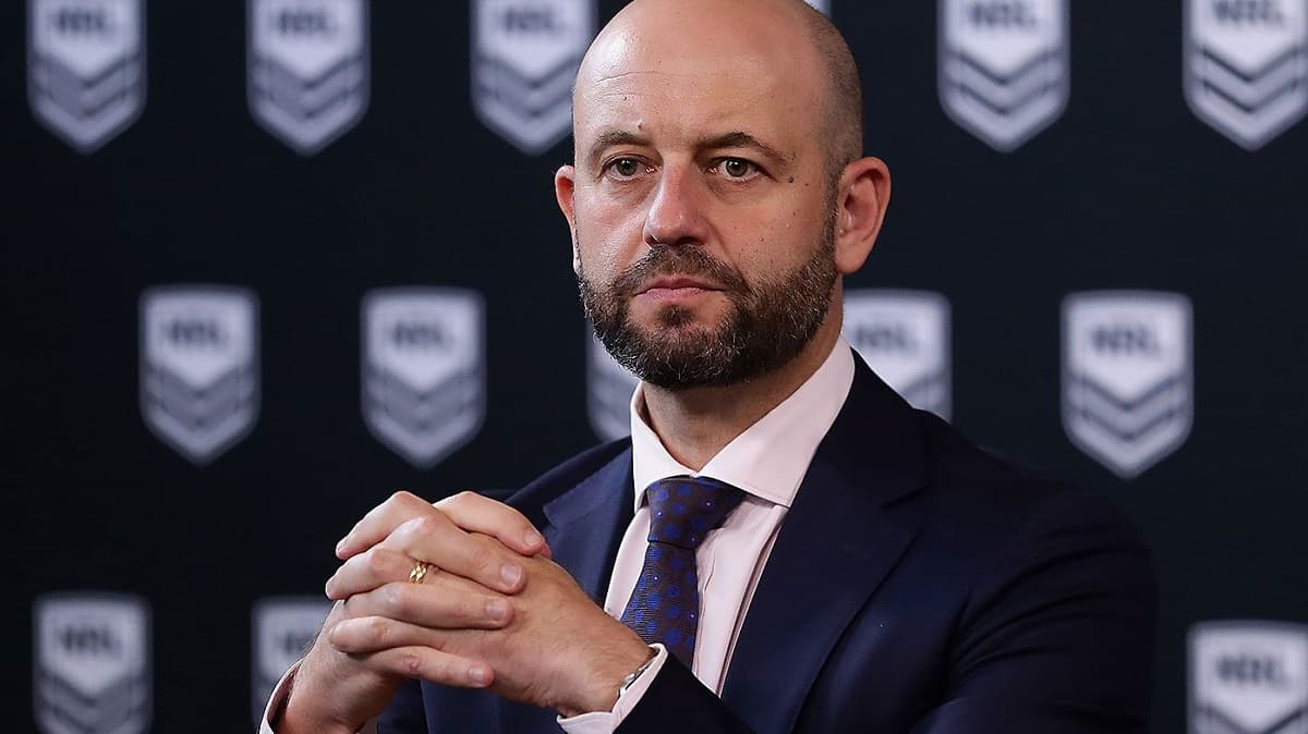Former National Rugby League boss Todd Greenberg appointed Australian Cricketers Association chief