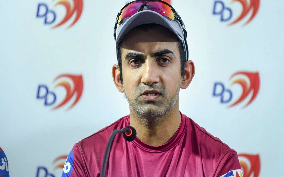 Cricket Image for Gautam Gambhir Picks Indian Playing Xi For The First Test Against England