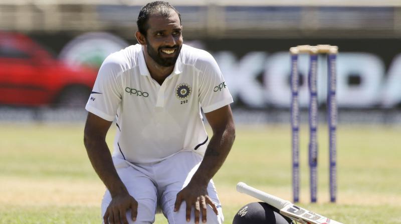 Cricket images for Hanuma Vihari reacts to bjp leader Babul Supriyo tweet