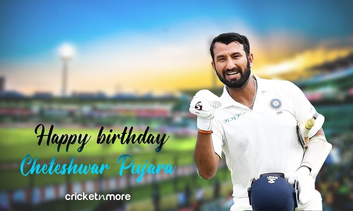 Happy Birthday Cheteshwar Pujara - The Ultimate Warrior Of Test Cricket