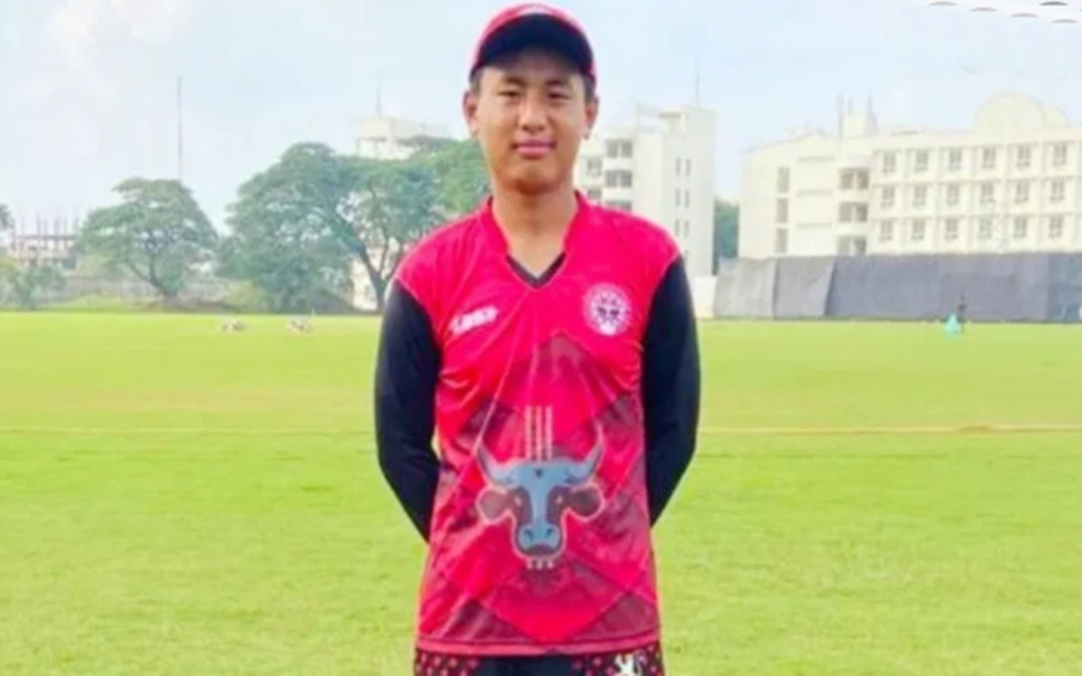 Cricket Image for IPL 2021 Khrievitso Kense From Nagaland Has Been Shortlisted For Trials For The Mu