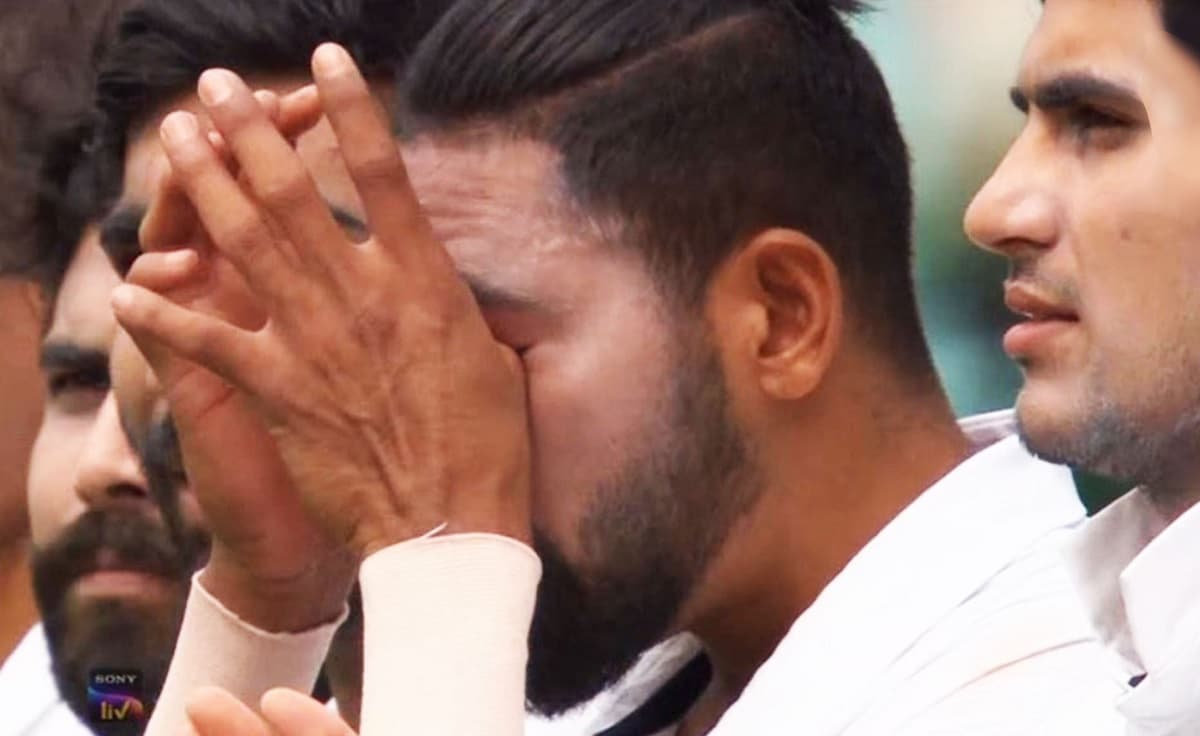 Dad's memory brought tears to my eyes says Indian Pacer Mohammed Siraj