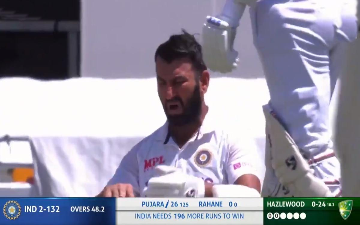 India vs Australia 4th Test short bowling against Cheteshwar Pujara