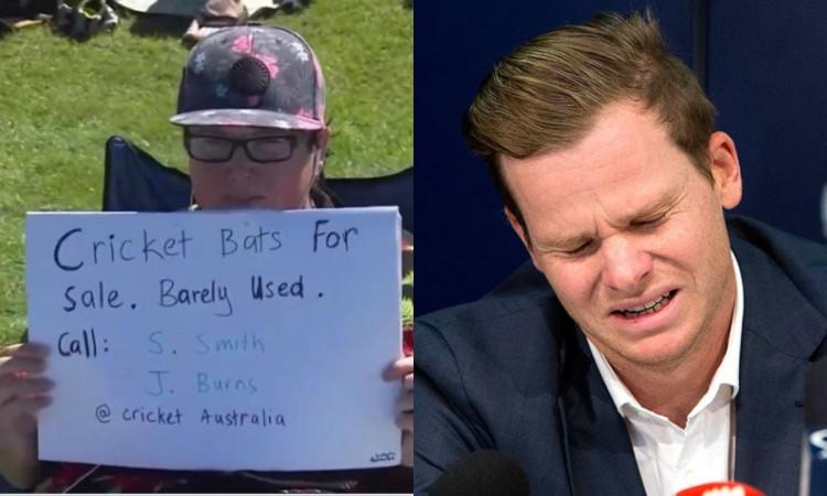 India vs Australia New Zealand fan trolling Joe Burns and Steve Smith