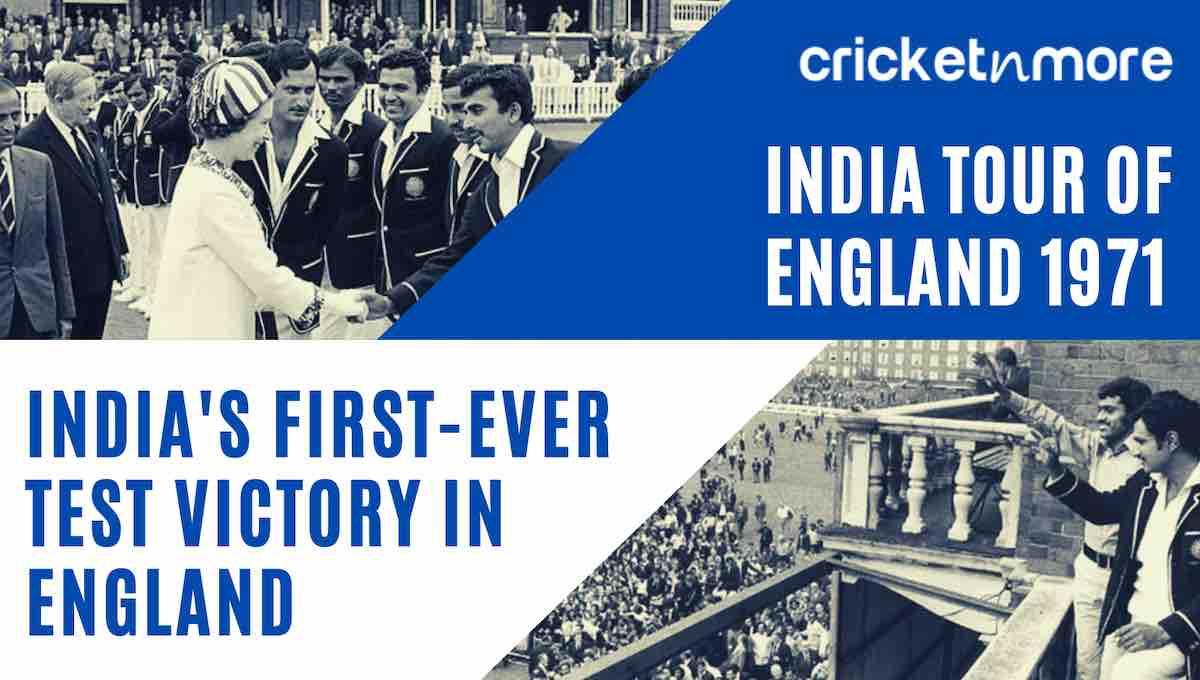 India tour of England 1971