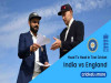 India vs England Head To Head Test Records in Hindi