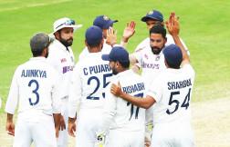 Team India need 328 to win Border-Gavaskar Trophy