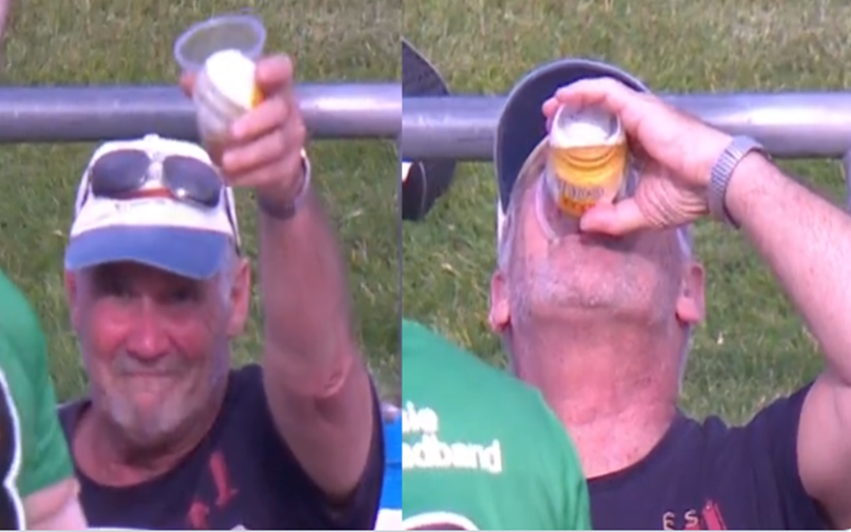 Man catches six in his beer During bbl match watch video in hindi