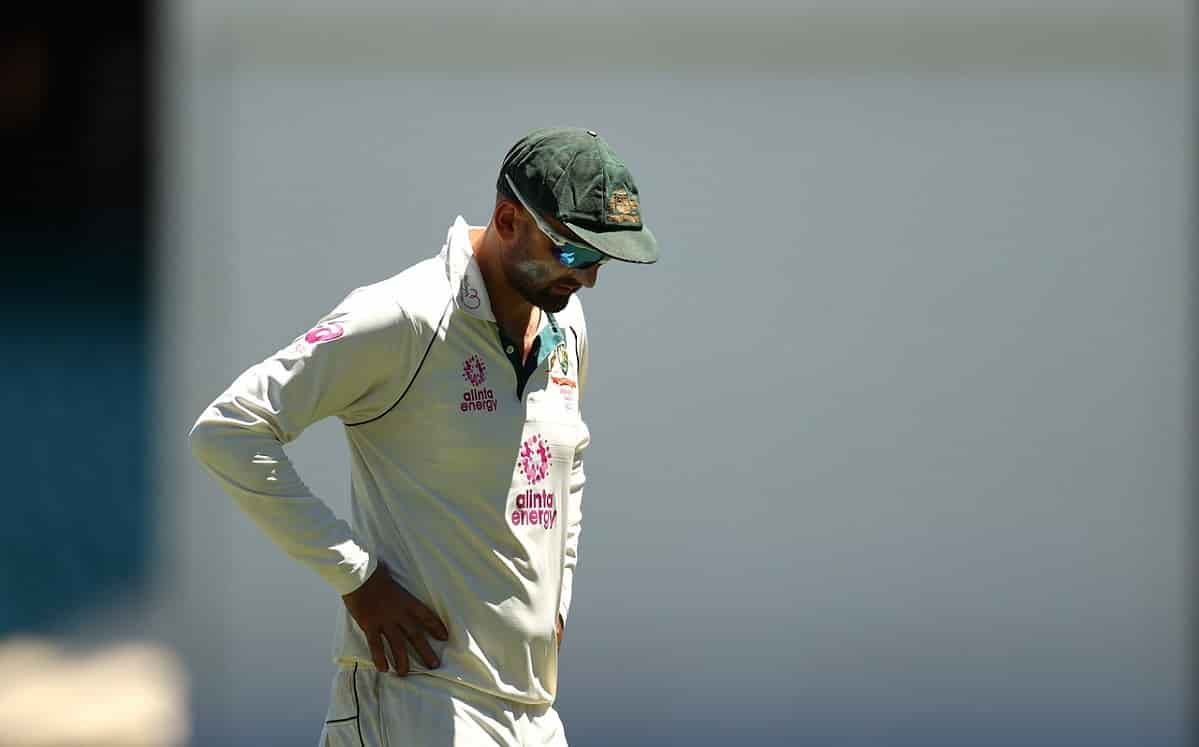 Nathan Lyon became the first ever bowler to concede 2000 runs in home Tests vs India